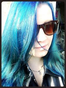 I currently have blue hair and feel like a mermaid.